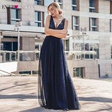Вечерние платья Длинные Ever Pretty EP07840 сексуальные с глубоким v образным вырезом расшитые блестками блестящие Новые Вечерние платья 2020 Abendkleider