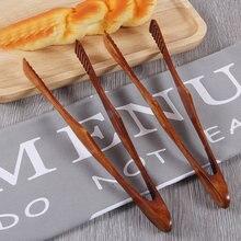 1 шт натуральные деревянные кухонные щипцы Пищевые Инструменты