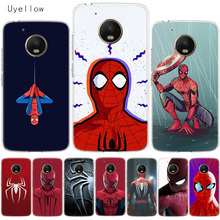 Uyellow Red Spiderman Soft Cover For Motorola G4 G5 G5S G6 G7 E4 E5 Plus Play Phone Case Moto Power Silicone Coque Shell