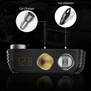Image 4 - 200W Car Power Cigarette Lighter Inverter DC 12V To AC 220V Converter Charger Adapter Transformer Lighter Socket USB Output