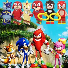 Anime Cartoon Movie Sonic Star travel Wars Avatar Aang Stitch Building Blocks Baby Toys Adventure Game Figures Mario Toy Story 4(China)
