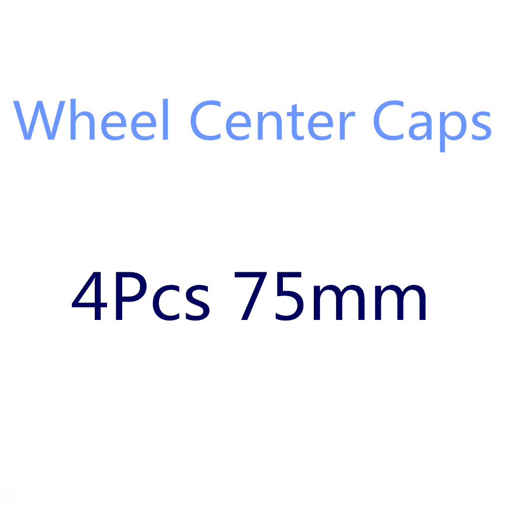 4X 75mm Car Wheel Center Hub Cap Badge Logo Covers For <font><b>Mercedes</b></font> Benz W212 W210 W220 W203 W204 W205 C200 A B C E CLC CLK ML Class image