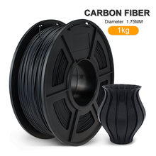 Pla нить из углеродного волокна 1 кг 175 мм 22 фунтов 100% без