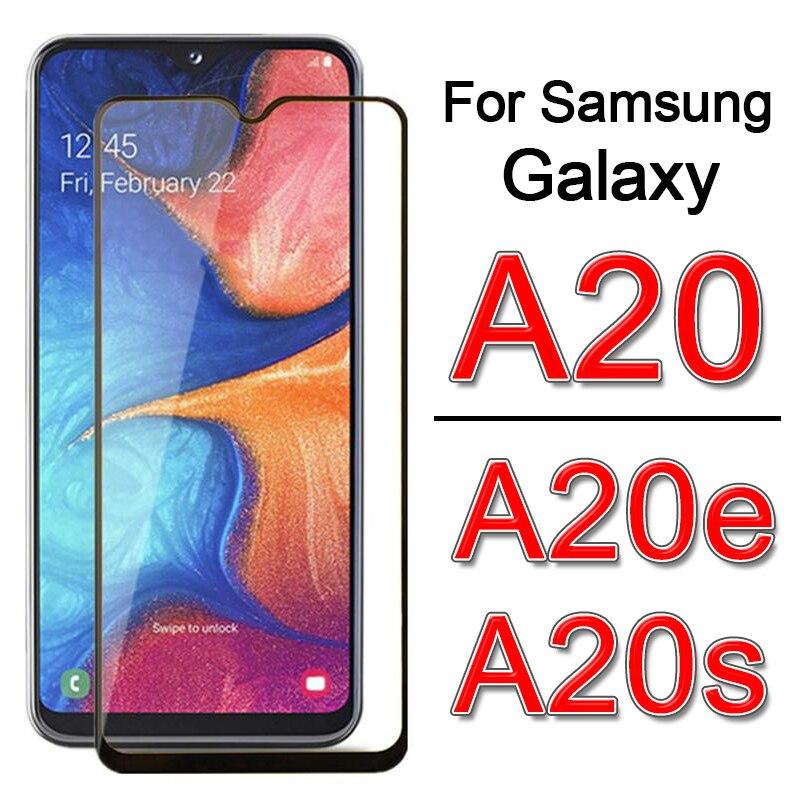 Vidrio para Samsung A20s A20e A20 e s Protector de pantalla para sam Galaxy a 20s 20e 20 SM-A202F película protectora de vidrio templado 9H