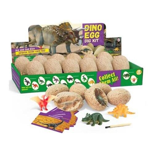 dino ovo dig kit dinossauro brinquedos quebrar aberto 12 dino ovos e descobrir 12x bonito
