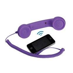 Uniwersalny Retro odporny na promieniowanie telefoniczny zestaw słuchawkowy słuchawki do połączeń telefonicznych|Zestawy słuchawkowe|Telefony komórkowe i telekomunikacja -