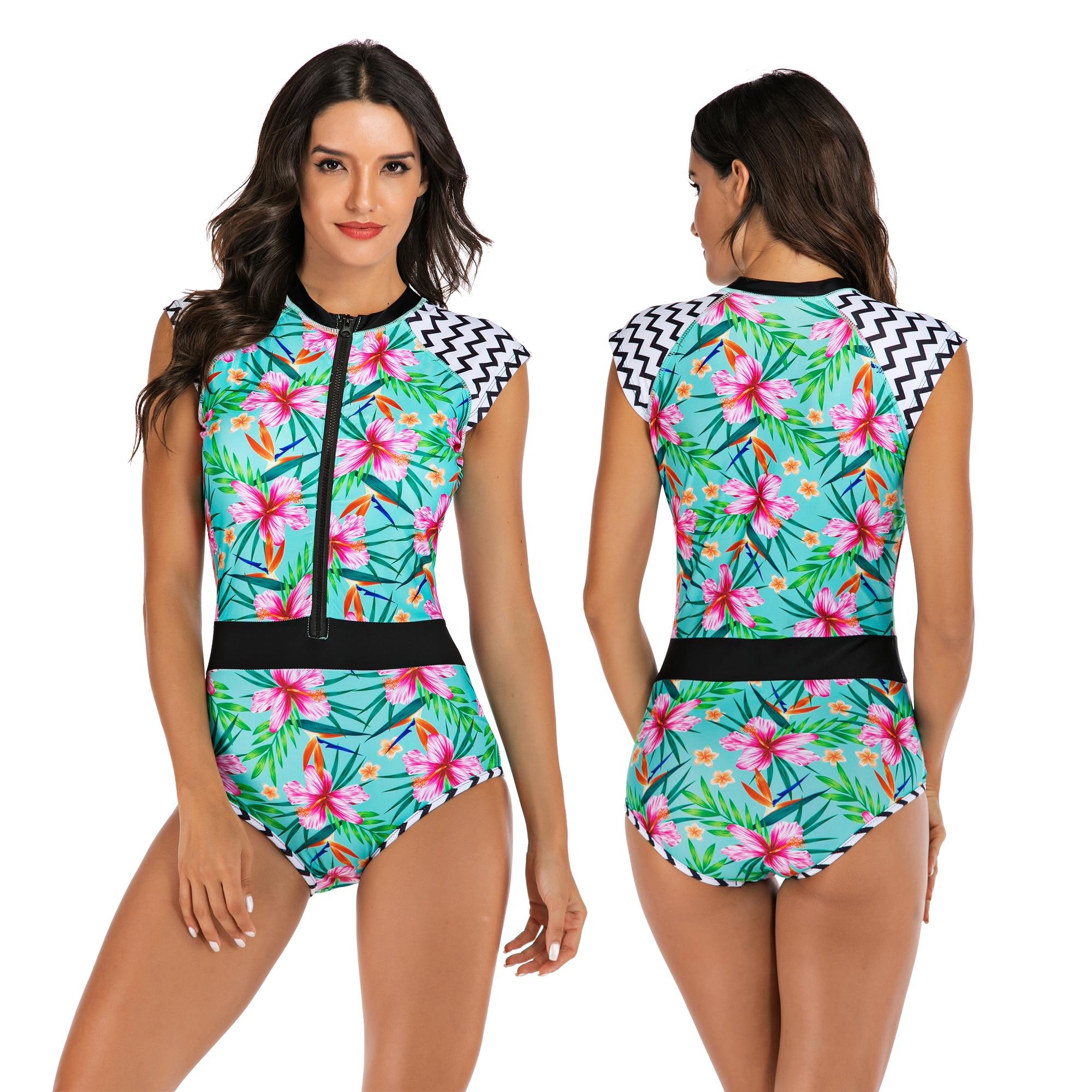 Бикини с высокой талией 2019, купальник Mujer, Женская леопардовая одежда для плавания, женский купальный костюм из 2 частей, комплект бикини, вин... 20