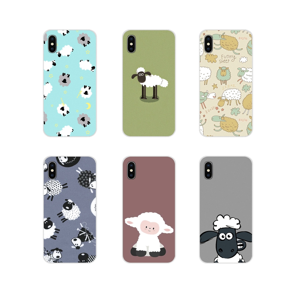 sheep mutton cartoon Accessories Phone Shell Covers For Apple iPhone X XR XS 11Pro MAX 4S 5S 5C SE 6S 7 8 Plus ipod touch 5 6