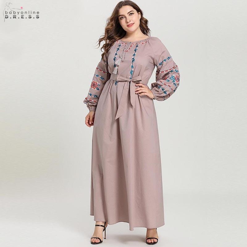Moyen-orient o-cou longue Robe de soirée gland Bowknot arabe dubaï Robe de soirée modèles Robe de soirée musulmane Abendkleider