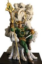 High Quality TFtoys Custom Marvel Loki Throne David Pereira 1/4 Scale Resin Statue Recast sostiene pereira