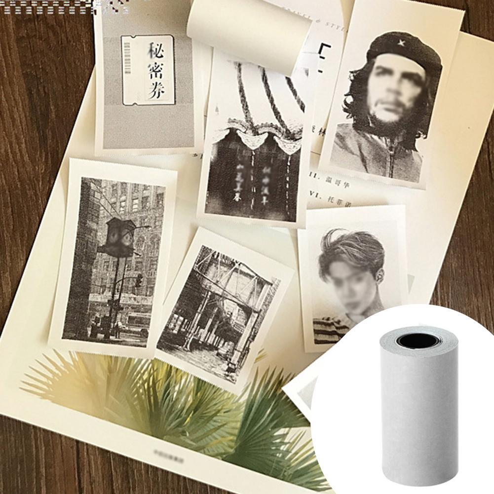 1 Roll Pocket Mobile Printer Self-adhesive Paper Roll Thermal Paper Suitable For PAPERANG PeriPage Printer