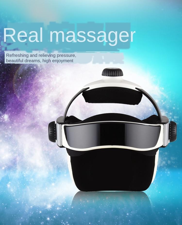 Brain relaxing head massager electric massager massage helmet headache home multifunctional scalp massager