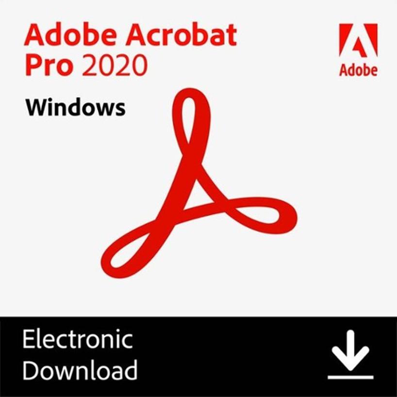 Программное обеспечение Acrobat Pro DC CC 2020 PDF для решения Windows, быстрая установка, простота использования