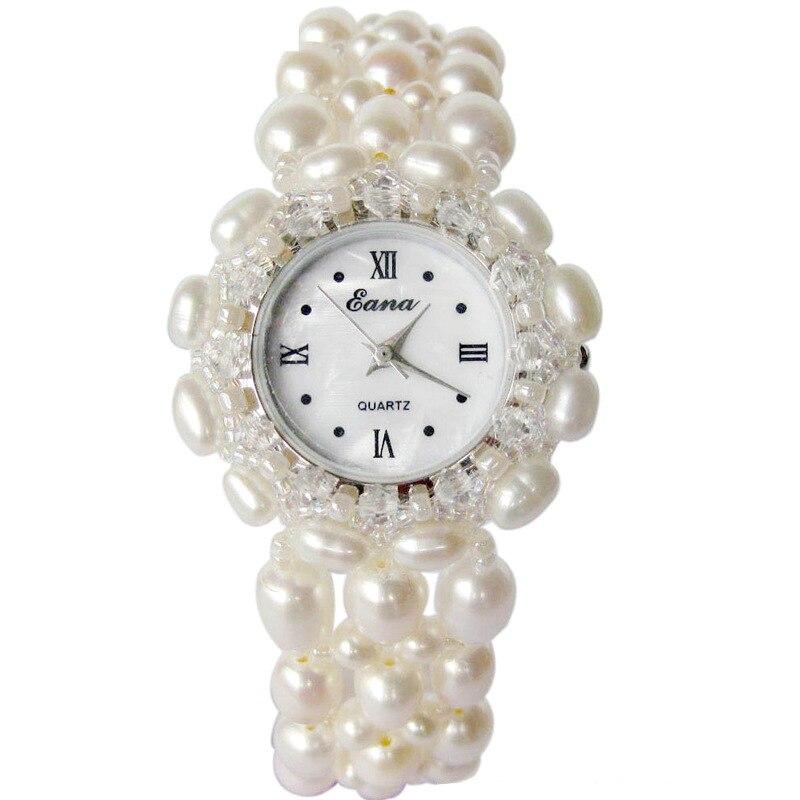 Nouveau 2020 mode femmes Quartz montre-Bracelet filles femme perle Bracelet bijoux étudiants montre-Bracelet cadeaux
