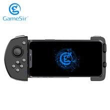 Gamesir g6 mobile gaming touchroller bluetooth controlador sem fio para android telefone pubg chamada de dever codm preto