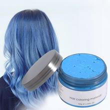 Ash Grey Strong Hold Temporary Hair Dye Gel