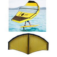 Inflatable Kiteboarding Trainer Kite Kitesurfing Paraglider Wing for Beginners or Professional Fun Water Sports