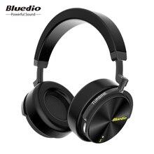 Bluedio T5 aktywna redukcja szumów bezprzewodowe słuchawki Bluetooth przenośny zestaw słuchawkowy z mikrofonem do telefonów i muzyki