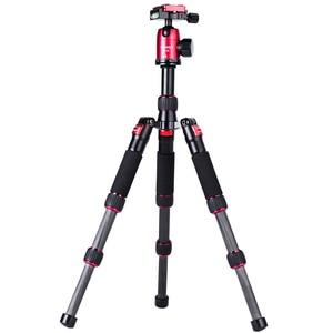 Image 2 - Manbily Lightweight Tripod Portable Travel Tabletop Tripod Macro Photography Tripod with CNC Ball Head for Sony Canon Nikon