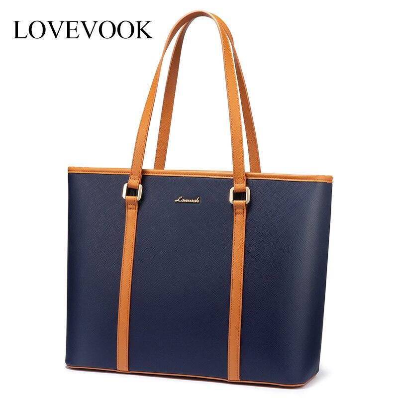 LOVEVOOK women shoulder bags Office bag 15.6 inch laptop bag for ladies luxury handbags female large tote bags for school/work