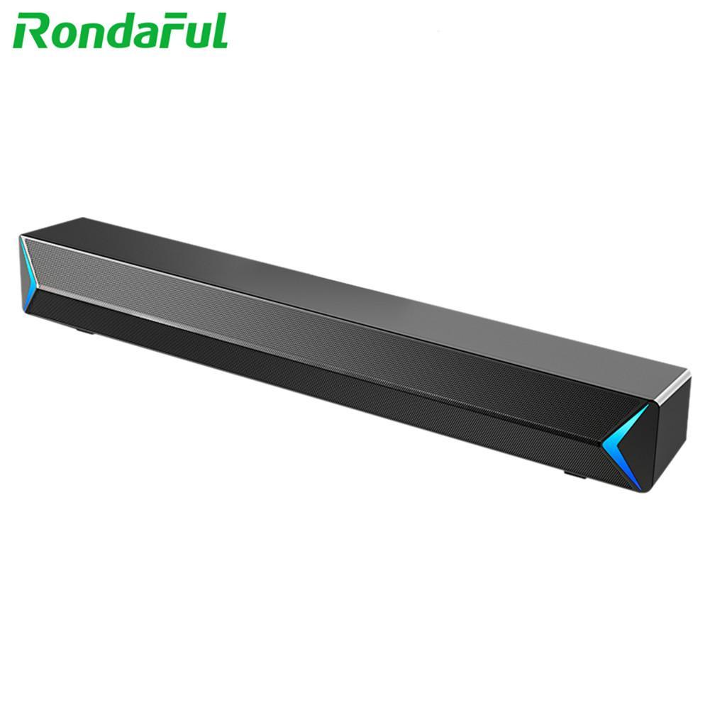 NEW Portable USB Bar Speaker Durable Desktop Subwoofer Computer Audio Sound Bar Universal for Computer Smart Phone