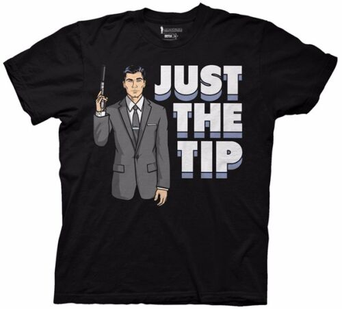 Archer Just The Tip Licensed Adult T Shirt