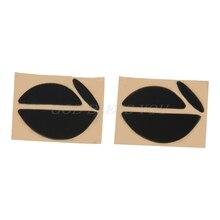 2 ensembles/pack 0.6mm souris pieds souris patins pour souris Logitech MX518 /G400 /G400S livraison directe