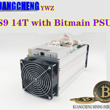 PSU Bitcoin Miner Bm1387-Miner Used Bitmain with 90%New 16nm 1372W 14000gh/S 14T