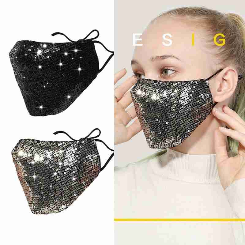 5-Pcs Dust-Proof Anti-Haze Mask For Kids//Adults Glow In The Dark Mouth Mask