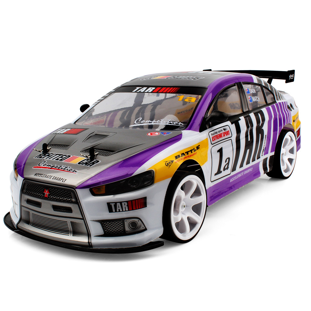 1:10 4WD RC Cars Updated Version 2.4G  Double Battery RC Cars Toys Buggy  High Speed Car Off-Road Toys For Children L1219