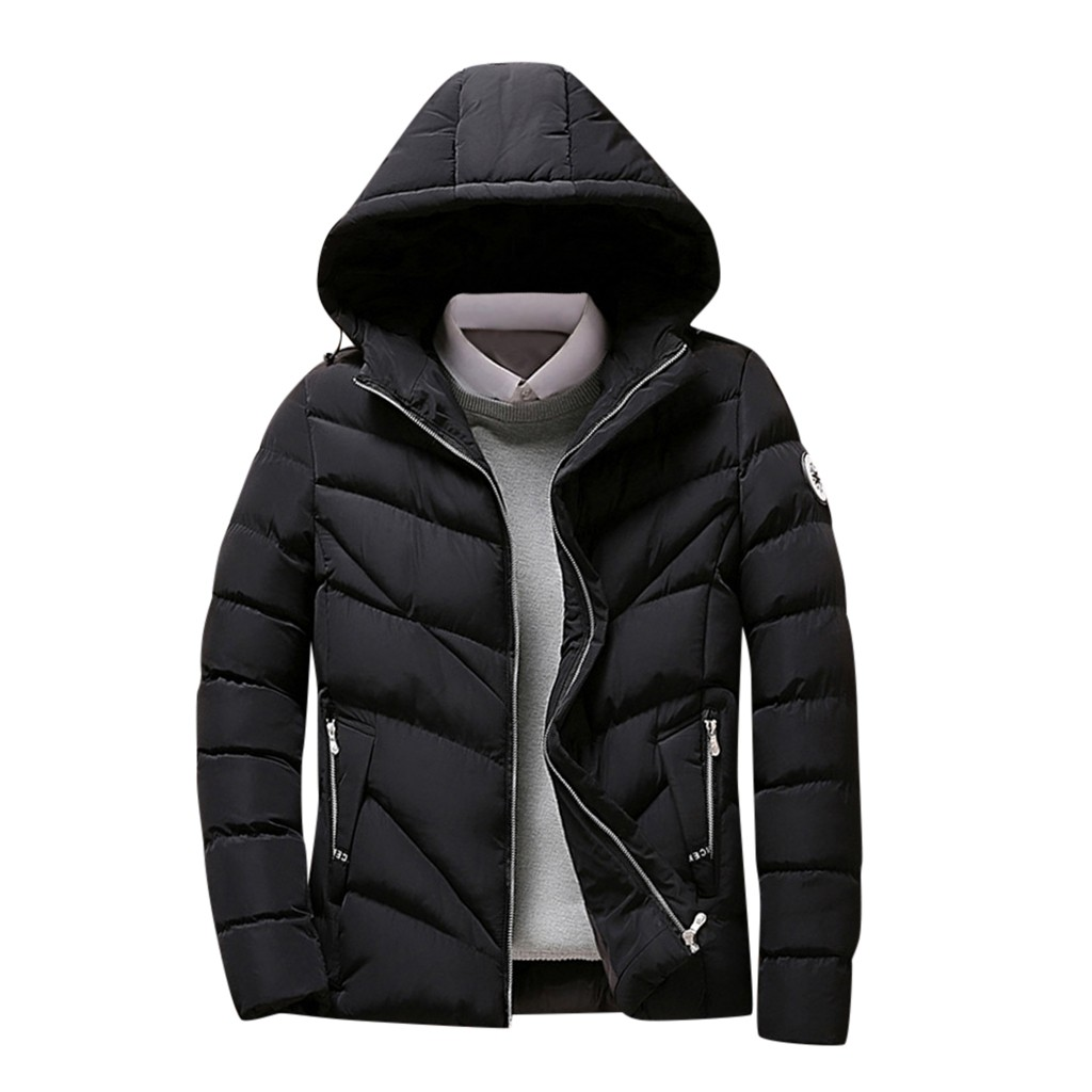 Low Price Loss Sale 2019 Fashion Men's Autumn Winter Casual Pocket Button Down Jacket Top Coat High Quality Drop Shipping New