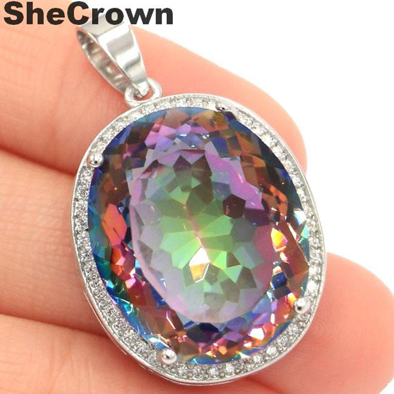 22x18mm Special Big Oval 22x18mm Color Changing Spinel Silver Ring US 7