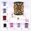 5 ярдов искусственный жемчуг, цветок, бусы, цепочка, гирлянда, цветы, свадебное украшение, аксессуары Diy