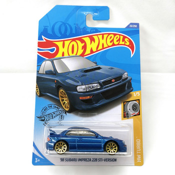Hot Wheels (98 SUBARU IMPREZA 22B STi ) (95 SUBARU SVX) (SUBARU WRX STI) (SUBARU BRAT) Metal Diecast Model 1:64 Car фото