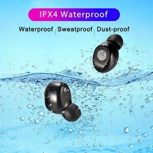 Image 3 - 120 שעות המתנה אוזניות אלחוטי אמיתי סטריאו TWS F9 אוזניות Hifi Bluetooth 5.0 אוזניות מגע בקרת אוזניות