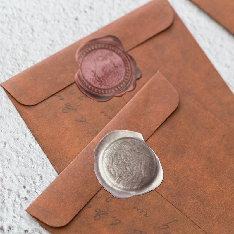 1Pcs Vintage Envelope Creative Kraft DIY Decorative Envelope Paper School Office Supplies
