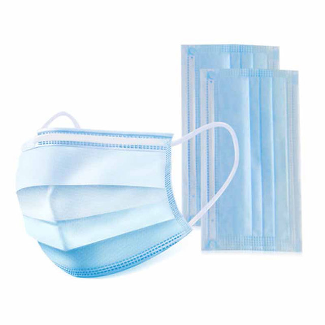 20pcs/50pcs Hygiene Face Mouth Masks 3 Layer Mask Flu Non Woven Disposable Anti-Dust Meltblown Cloth Masks Earloops Masks 4