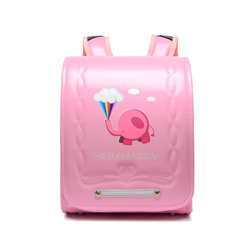 Children Japan School Bag For Girls Kid Orthopedic Backpack For School Students Bookbag Japan PU Randoseru Baby Bags New