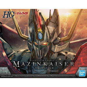 Image 2 - BANDAI HG 1/144 Mazinkaiser INFINITY Ver PVC Assembly Model Ornament Action Toy Figures Christmas Birthday Gift