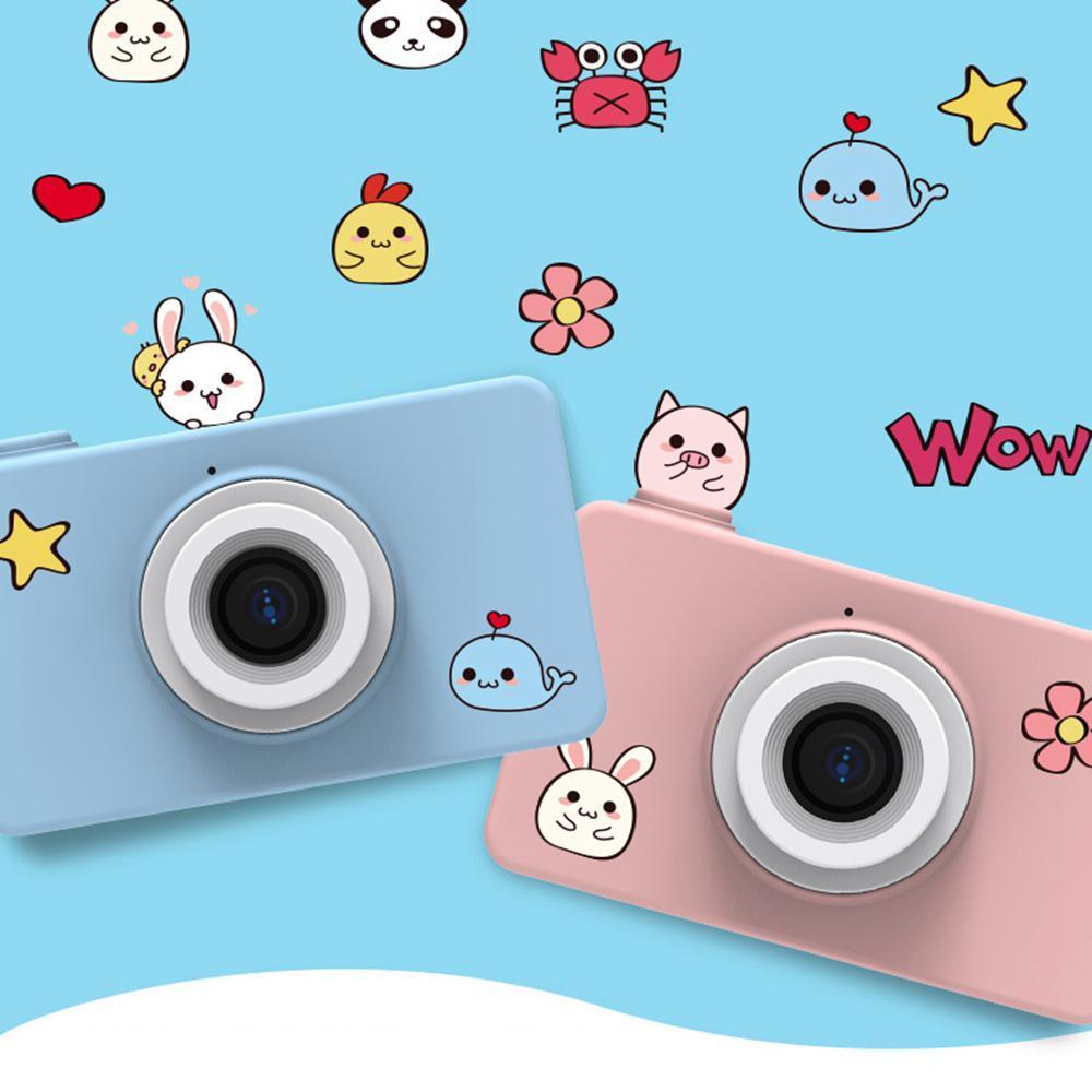 Enfant jouet caméra 8MP bande dessinée caméra HD vidéo Mini caméra caméscope pour enfant bébé cadeaux numérique vidéo créative bricolage 8GB mémoire