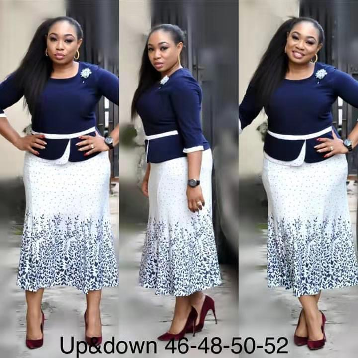 New Autumn Season Plus Size Floral Printed Mid-length Skirt Popular African Women Evening Party Dress African Dresses For Women