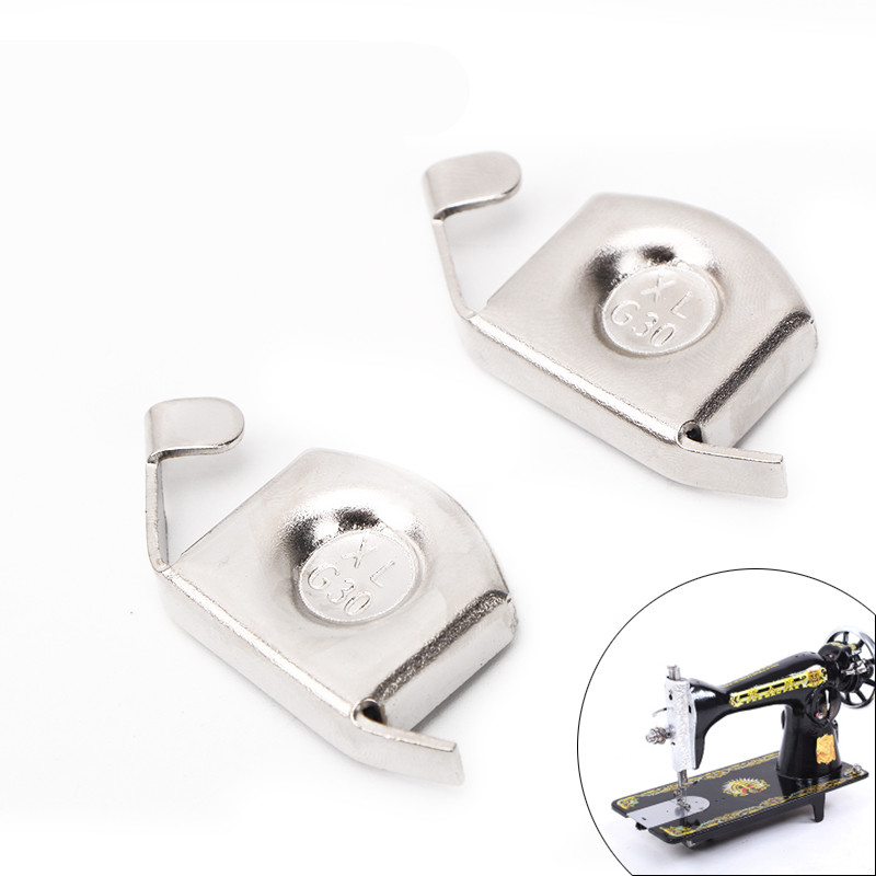 Universal Seam Guide Gauge Presser Rule Block Sewing Machine Accessories Magnetic Seam Guide for Sewing Machines Silver
