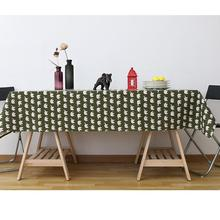 2019 Rectangular Table Cloth Modern Cotton Rectangle Tablecloths Cover House Christmas Wedding Decoration