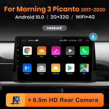 AWESAFE PX9 for Kia Morning 3 Picanto 2017-2020  Car Radio Multimedia video player GPS No 1din 1 din Android 10.0 2GB+32GB