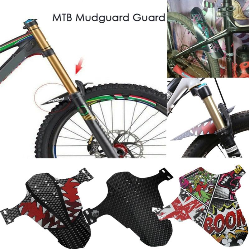 MTB Mudguard Guard Set Mountain Bike Bicycle Fender Front Rear Tyre Mud Guard@