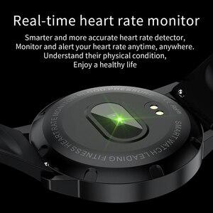 Image 5 - RUNDOING S4 여성 스마트 시계 남자 HD 전체 터치 스크린 심장 박동 혈압 산소 모니터 패션 스포츠 smartwatch 남자