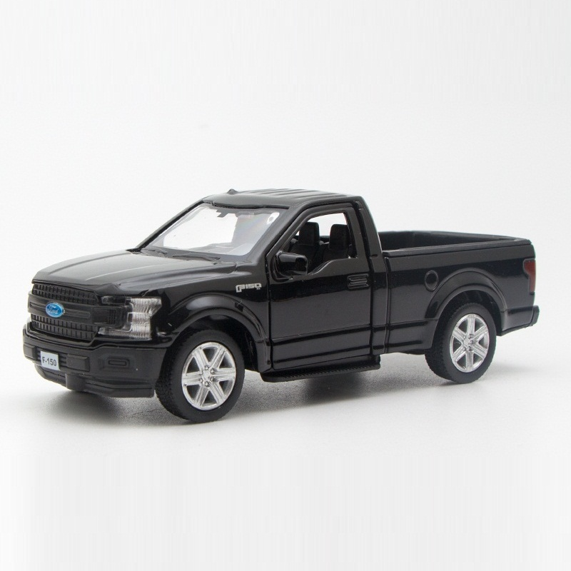 High Simulation Exquisite Diecasts&Toy Vehicle: RMZ City Car Styling Ford F150 Raptor Pickup Trucks 1:36 Alloy Diecast SUV Model