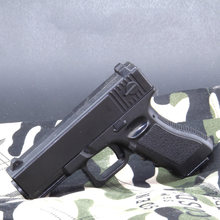 Mini pistola de aleación para adultos, modelo de pistola de juguete de Águila del desierto, Glock, Beretta, Colt, puede disparar balas suaves, regalos para niños