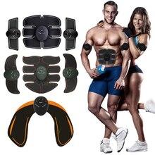 Estimulador muscular eléctrico ems inalámbrico para glúteos y cadera, estimulador de abs fitness abdominal, masajeador para pérdida de peso corporal