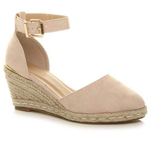 tecelagem cunhas sandalias mujer